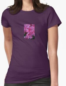 Closeup Shot of Pink Flowers on Oleander Shrub T-Shirt