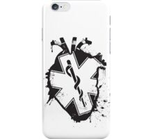 star of life anatomical heart iPhone Case/Skin
