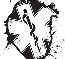 star of life anatomical heart by maydaze