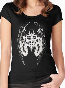 Angel Wings Women's Fitted Scoop T-Shirt