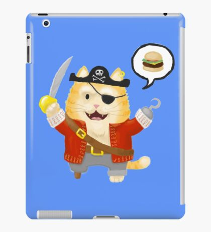 Burger Buccaneer iPad Case/Skin