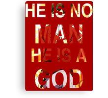 God of Conquest 2 Canvas Print
