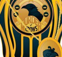 Murder of Crows  Sticker