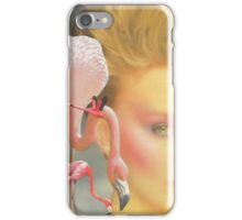 Flamingo fling iPhone Case/Skin
