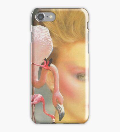 Flamingo fling iPhone Case/Skin