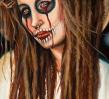 Girl Jesus by Sylvia Lizarraga Sticker