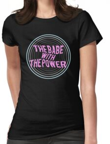 What babe? Womens Fitted T-Shirt