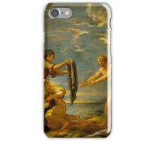 Odysseus and Nausicaa, Salvator Rosa (and Studio) (Italy, Naples,  iPhone Case/Skin