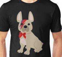 David Bowie French Bulldog art Unisex T-Shirt