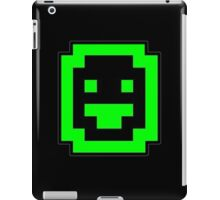 Dwarf Fortress Dwarf (Green on Black) iPad Case/Skin