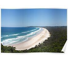 Byron Bay Tallow Beach Australia Poster