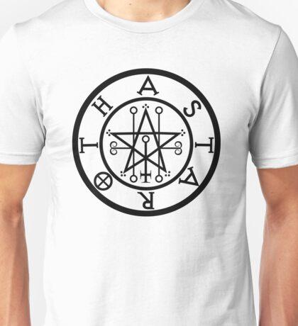 ASTAROTH - solid BLACK Unisex T-Shirt