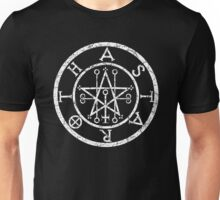 ASTAROTH - distressed white Unisex T-Shirt