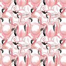 All the Flamingos - Pattern by Vicky Webb