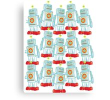 Robot Army Canvas Print
