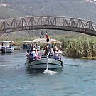 Boat Tour Along the Azmak, Akyaka Turkey by taiche
