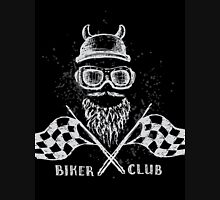 Biker tattoo or emblem hand drawn Unisex T-Shirt