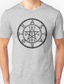 ASTAROTH - distressed black T-Shirt