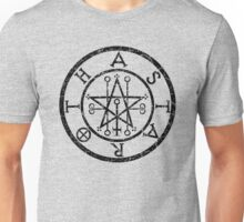 ASTAROTH - distressed black Unisex T-Shirt
