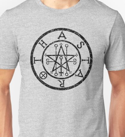 ASTAROTH - distressed black Unisex T-Shirt