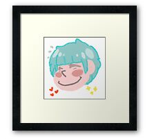 Cute Chibi Girl Framed Print