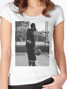 james harden Women's Fitted Scoop T-Shirt