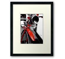 The Goodyear High-Way Patrol  Framed Print