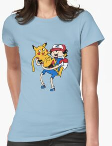 Choose Adventure Pikachu Womens Fitted T-Shirt
