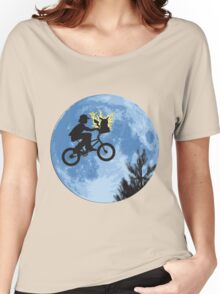 ET movie mashup with Pokemon Women's Relaxed Fit T-Shirt