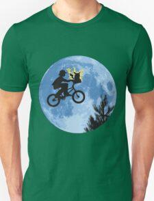 ET movie mashup with Pokemon Unisex T-Shirt