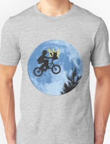 ET movie mashup with Pokemon T-Shirt