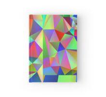 Rainbow crystals Hardcover Journal
