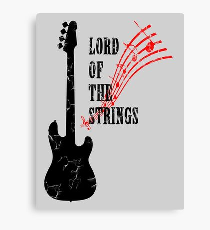 Lord Of The Strings Canvas Print
