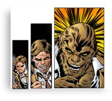 Bigby wolf transformation sequence, from fables / the wolf among us Canvas Print