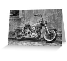 American Classic in Mono Greeting Card