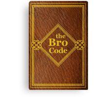 HIMYM - The Bro Code Canvas Print