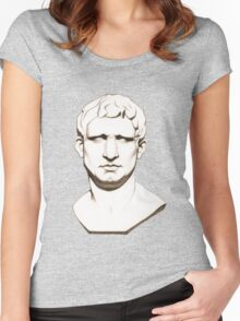 The Roman General - Marcus Vipsanius Agrippa Women's Fitted Scoop T-Shirt
