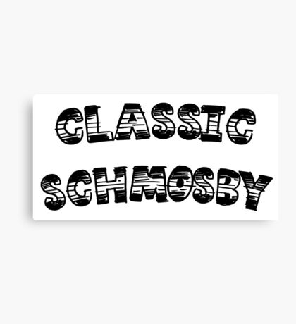 HIMYM - Classic Schmosby Canvas Print