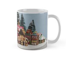 Miniature Gingerbread House Town Mug