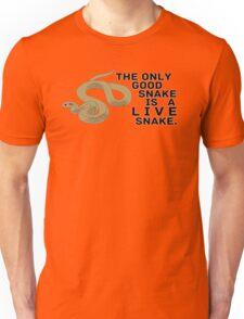 Live Snake Unisex T-Shirt