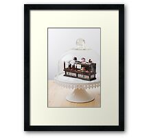 Pastry is a Girl's Best Friend Framed Print