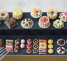 Rainbow Pastry and Cakes by PetitPlat