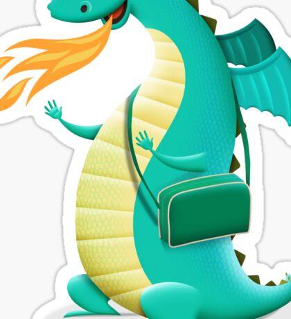 Sunshine Dragon Sticker