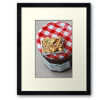 Pass the Jam and Miniature Croissants Framed Print