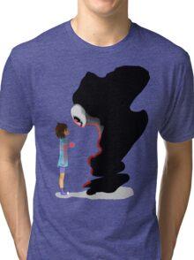 Frisk and Gaster Tri-blend T-Shirt
