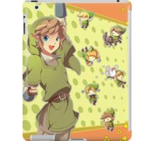 Legend of Zelda: Link time iPad Case/Skin
