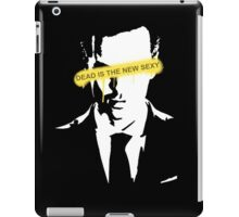 Dead is the new Sexy Jim Moriarty iPad Case/Skin