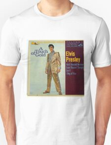 Elvis Presley A Touch Of Gold  EP cover, Gold Suit Unisex T-Shirt