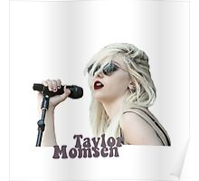Taylor Momsen Red Lips Poster