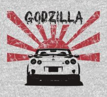 Nissan GTR, Godzilla Japan by hottehue